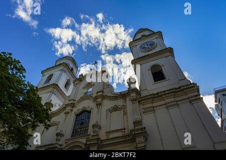 Iglesia de San Ignacio en Buenos Aires, Argentina