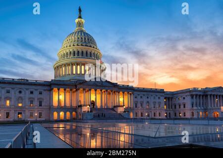 Capitolio DE EE.UU. En Washington DC