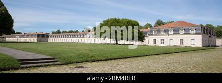 Gran Panorama de la corderie royale en Rochefort, Francia, Europa