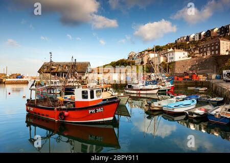 Vistas al puerto de Mevagissey, Cornwall