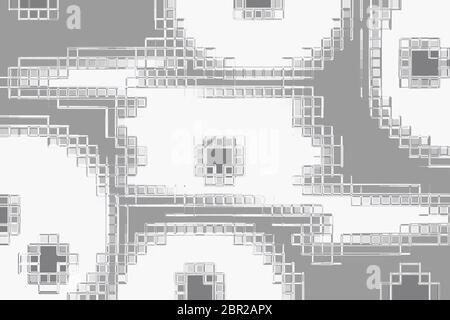 Gráfico de fondo abstracto silenciado para el concepto en robótica, circuitos, energía, energía, informática, espacio para copia, espacio para texto añadido, papel tapiz