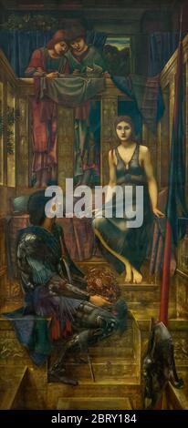 El rey Cophetua y el Beggar Maid, por Edward Coley Burne Jones, 1884,