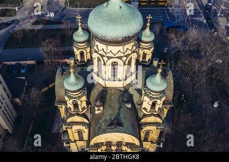 Catedral Ortodoxa Metropolitana de la Santa e igual a los Apóstoles María Magdalena en Varsovia, capital de Polonia