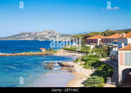 Playa de Porto Faro, Palaos, Provincia de Sassari, Cerdeña, Italia, Mediterráneo, Europa