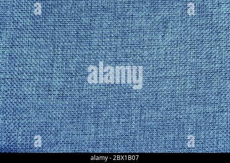 Fondo abstracto de tejido áspero en color azul para el diseño Foto de stock