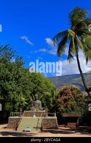Gran Buda, Misión Lahaina Jodo, Lahaina, Isla Maui, Hawai, Estados Unidos