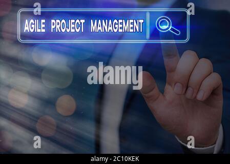 Escritura a mano escritura de texto Gestión ágil de proyectos. Metodología conceptual de gestión de fotografías desde la tecnología tradicional hasta la moderna