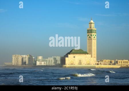 Mezquita de Hassan II en Casablanca, Marruecos