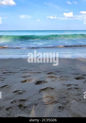 playa en la isla de Phuket en Tailandia