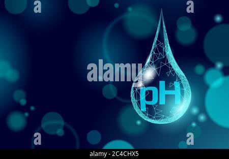 Agua pH laboratorio análisis química ciencia tecnología. Investigación escolar educación datos de laboratorio de microscopio prueba potencial. Concepto de salud de la medicina
