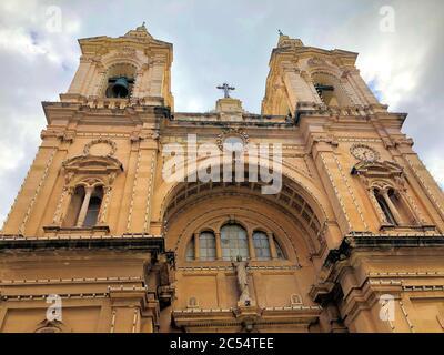 Iglesia católica en la Valeta