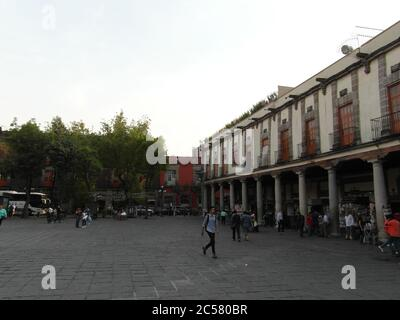 ¡la ciudad de México está viva y es muy hermosa! Arquitectura inusual de América Latina, motivos españoles y calles maravillosas. Sin filtro