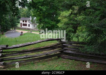 Fredericksburg & Spotsilvania National Military Park, Fredericksburg, va. Foto de stock
