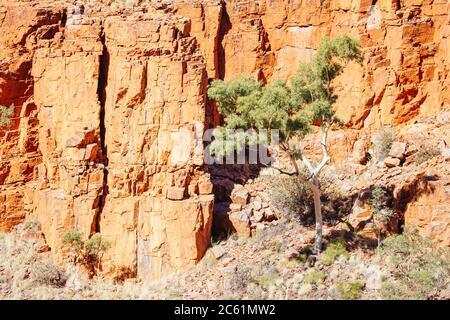 Ormiston Gorge en el Territorio del Norte de Australia