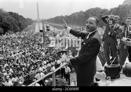 Martin Luther King Jr., marcha en Washington (28 de agosto de 1963)