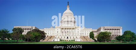 El edificio del Capitolio de los Estados Unidos, Washington DC, EE.UU.