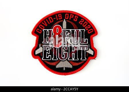 23D Bomb Squadron Crew 8 'H8FUL OCHO' Covid-19 OPS 2020, Minot base de la Fuerza Aérea