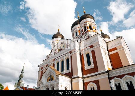 La Catedral Alexander Nevsky en Tallinn, Estonia