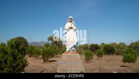 Madre Teresa de la estatua de Calcuta Foto de stock