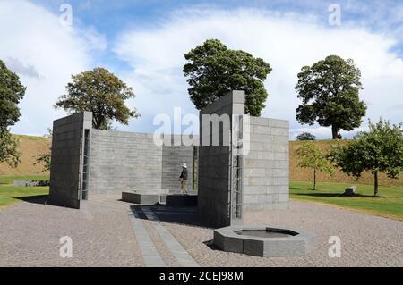 Kastellet Memorial al esfuerzo Internacional desde 1948 en Copenhague