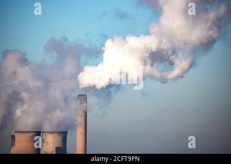 Central eléctrica de carbón en Fiddlers Ferry