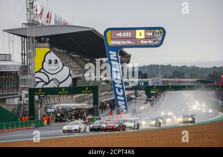 Le Mans, Francia. 19 de septiembre de 2020. 125 Larry Ten Voorde, Porsche 911 GT3 Cup, acción durante la Copa Porsche Carrera 2020 en el circuito des 24 Heures du Mans, del 18 al 19 de septiembre de 2020 en le Mans, Francia - Foto Thomas Fenetre / DPPI crédito: LM/DPPI/Thomas Fenetre/Alamy Live News crédito: Gruppo Editoriale LiveMedia/Alamy Live News
