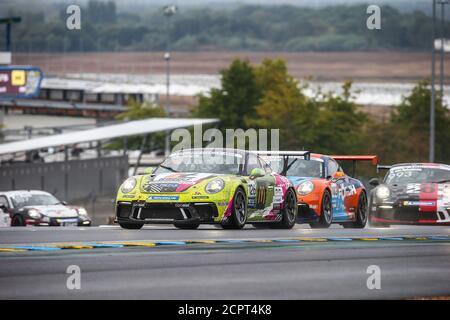 Le Mans, Francia. 19 de septiembre de 2020. 126 Laurien Heinrich, Porsche 911 GT3 Cup, acción durante la Copa Porsche Carrera 2020 en el circuito des 24 Heures du Mans, del 18 al 19 de septiembre de 2020 en le Mans, Francia - Foto Thomas Fenetre / DPPI crédito: LM/DPPI/Thomas Fenetre/Alamy Live News crédito: Gruppo Editoriale LiveMedia/Alamy Live News