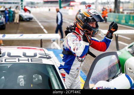 Le Mans, Francia. 19 de septiembre de 2020. 125 Larry Ten Voorde, Porsche 911 GT3 Cup, Ambiance durante la Copa Porsche Carrera 2020 en el circuito des 24 Heures du Mans, del 18 al 19 de septiembre de 2020 en le Mans, Francia - Foto Xavi Bonilla / DPPI crédito: LM/DPPI/Xavi Bonilla/Alamy Live News crédito: Gruppo Editoriale LiveMedia/Alamy Live News