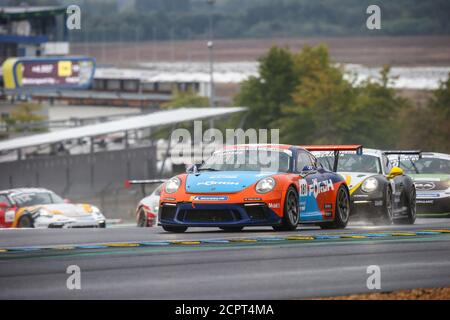 Le Mans, Francia. 19 de septiembre de 2020. 181 Julien Hanses, Porsche 911 GT3 Cup, acción durante la Copa Porsche Carrera 2020 en el circuito des 24 Heures du Mans, del 18 al 19 de septiembre de 2020 en le Mans, Francia - Foto Thomas Fenetre / DPPI crédito: LM/DPPI/Thomas Fenetre/Alamy Live News crédito: Gruppo Editoriale LiveMedia/Alamy Live News