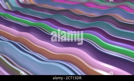 Fondo colorido abstracto con formas
