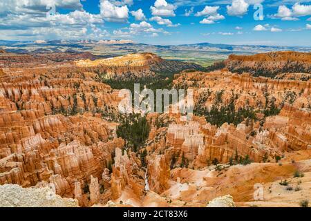 Mirador de Inspiration Point en el Parque Nacional del Cañón Bryce en Utah