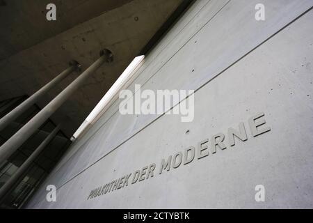 Museo de Arte moderno, Pinakothek der Moderne, Munich, Baviera, Alemania