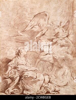 Estudio, (1715-1739?) Por Pierre Charles Tremolieres.