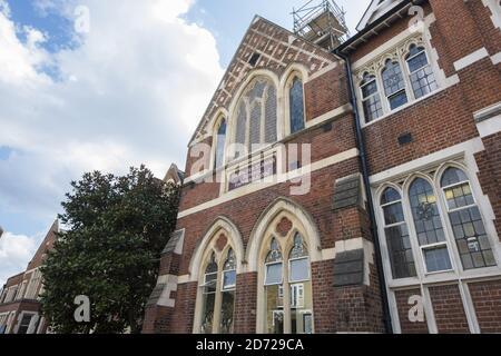 Vista general de la escuela de St Thomas en Battersea, Londres. El duque y la duquesa de Cambridge enviarán a su hijo, George, a la escuela a partir de septiembre de este año. Foto fecha: Martes 28 de marzo de 2017. El crédito de la foto debe decir: Matt Crossick/ EMPICS Entertainment.