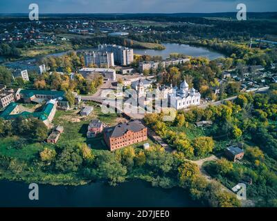 Monasterio de San Sergius en el estanque de Bethany en la ciudad de Sergiyev Posad, Rusia