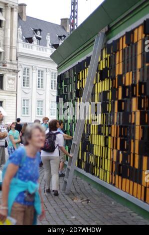 Muro de la memoria, Copenhague, Dinamarca, Kobenhavn, Danmark