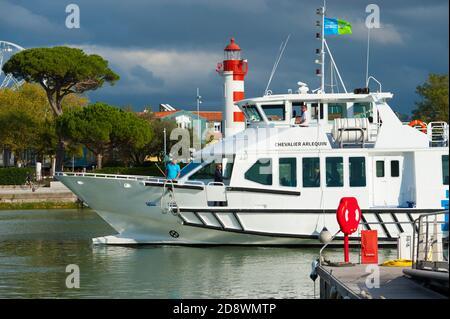 Francia, Charente Marítimo (17), la Rochelle, Vieux Port, Faro de Gabut