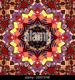 Repetir fondo de patrones de color