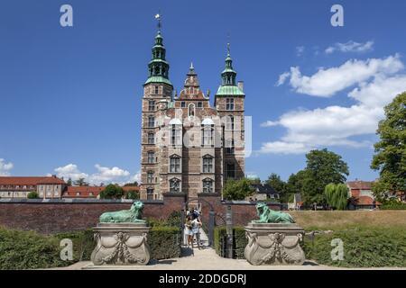 Geografía / viajes, Dinamarca, Copenhague, Castillo de Rosenborg, ranura de Rosenborg en Copenhague, Derechos adicionales-liquidación-Información-no-disponible