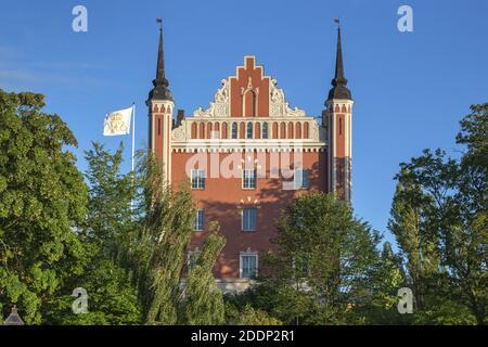 Geografía / viajes, Suecia, Estocolmo Laen, Estocolmo, edificio en Skeppsholmen, Derechos adicionales-liquidación-Info-no-disponible