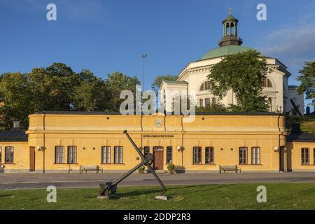 Geografía / viajes, Suecia, Estocolmo Laen, Estocolmo, edificio del Skaergardsstiftelsen detrás de Ske, Derechos adicionales-liquidación-Info-no-disponible