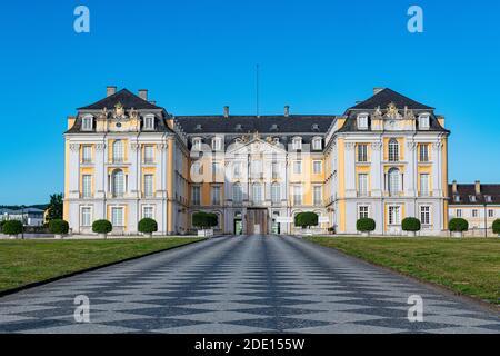 Palacio de Augustusburg, Patrimonio de la Humanidad de la UNESCO, Bruhl, Renania del Norte-Westfalia, Alemania, Europa