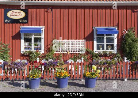 Geografía / viajes, Suecia, Estocolmo laen, Sigtuna, café en Sigtuna, Uppland, Derechos adicionales-liquidación-Información-no-disponible