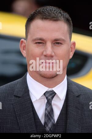 Channing Tatum asiste al estreno de Logan Lucky UK celebrado en Vue West End en Leicester Square, Londres. Photo Credit debe leer Doug Peters EMPICS Entertainment Foto de stock