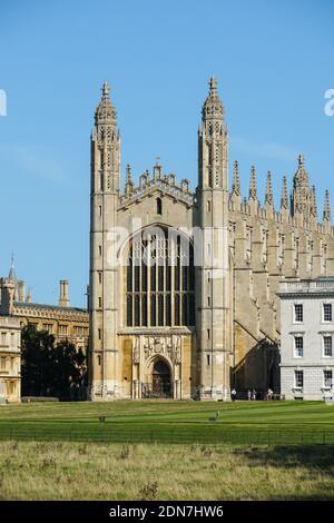 King's College Chapel en la Universidad de Cambridge, Cambridge Cambridgeshire Inglaterra Reino Unido
