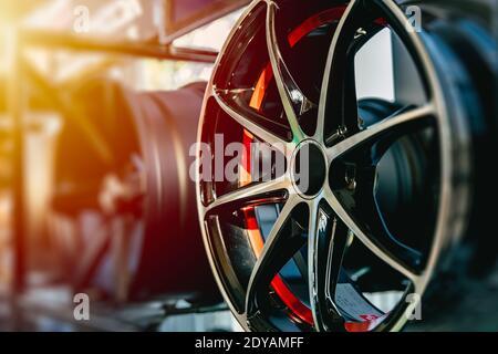 Llantas de aleación de ruedas llanta o rueda de Mag de alto rendimiento automático decoración de piezas