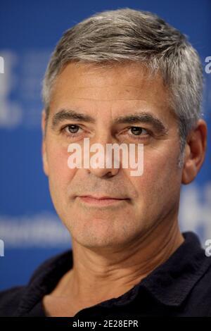 George Clooney asiste a la rueda de prensa de 'The Descendants' en el Festival Internacional de Cine de Toronto 2011. Toronto, Canadá, 10 de septiembre de 2011. Foto de Lionel Hahn/ABACAPRESS.COM