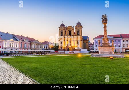 Timisoara, Rumania. El Domo en Union Square, región histórica de Banat.