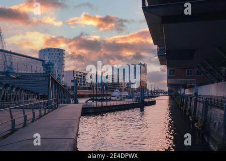 Hamburgo Hafen ciudad Elbphilharmonie