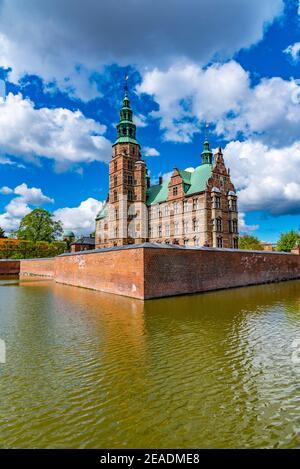 Rosenborg Slot castillo en la capital danesa Copenhague.